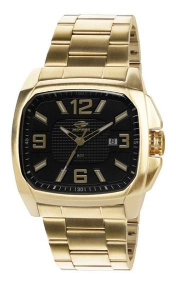 Relógio Mormaii Masculino Analógico Dourado Mo2315zg/4p