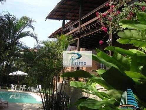 Mansão Com 5 Dormitórios À Venda, 480 M² Por R$ 3.650.000 - Camboinhas - Niterói/rj - Ca0556