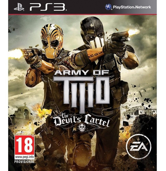Army Of Two Army Of Two - Jogos Ps3 Playstation 3