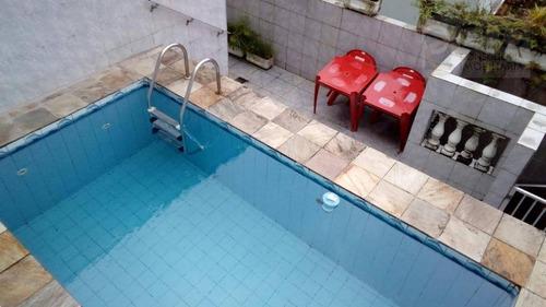 Imagem 1 de 30 de Casa Com 3 Dormitórios À Venda, 152 M² Por R$ 730.000,00 - Campo Grande - Santos/sp - Ca0323