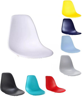 Assento Cadeira Charles Eames Wood Design Cores Nf Dsw