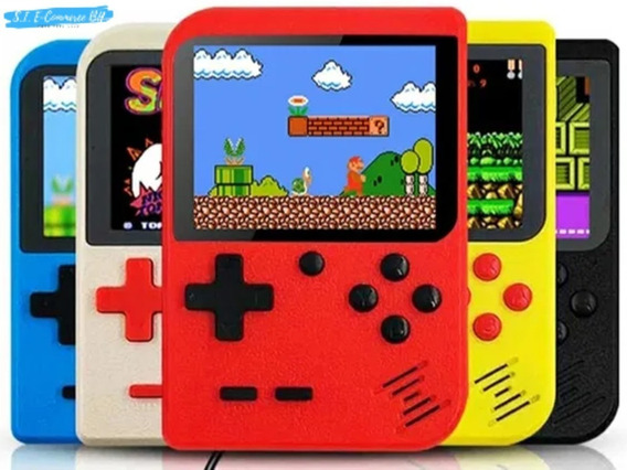 Vídeo Game Portátil 400 Jogo Super Nintendo Mini Game 3 Unid