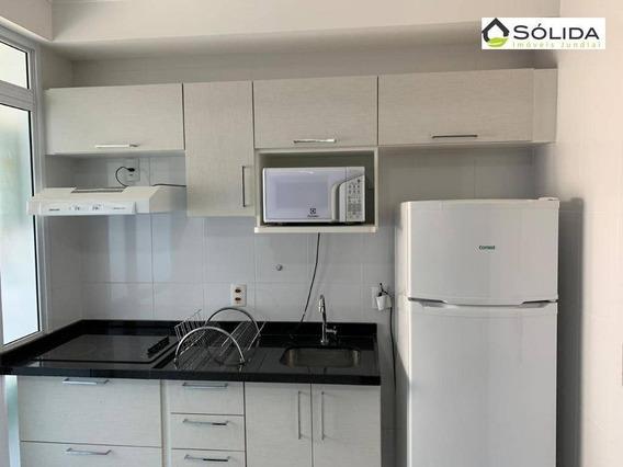 Flat Com 1 Dormitório Para Alugar, 48 M² Por R$ 1.500,00/mês - Vila Arens I - Jundiaí/sp - Fl0030