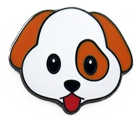 Pin De Solapa Real Emoji Sic - Kawaii Cute Puppy Enamel Pin