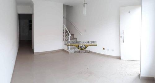 Imagem 1 de 12 de Sobrado Com 3 Dormitórios, 127 M² - Venda Por R$ 550.000,00 Ou Aluguel Por R$ 2.800,00/mês - Vila Invernada - São Paulo/sp - So0931