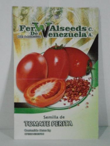 Semillas De Tomate Perita Rio Grande. 3g. (pack De 3 Sobres)