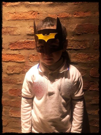 Antifaces Máscara Personalizados Batman