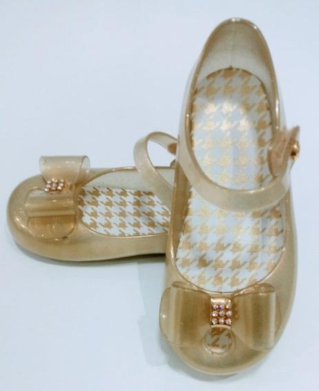 Sapatilha Pimpolho Dourada Feminina, Sandália,sapato.