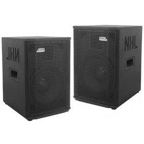 Caixas Ativa + Passiva Nhl Pro Sound 1000w 1x10 + Ti Nh4110