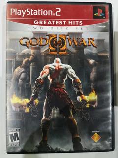 God Of War 2 Ps2 Incluye Los 2 Discos Y El Manual