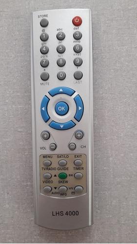 Controle Tv Visiontec Lhs 4000/ Le7566 - Novo - Pronta Entre
