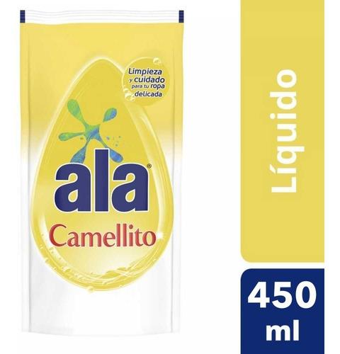 Ala Camellito Jabon Liquido  Ropa Fina Lavado A Mano 450 Ml