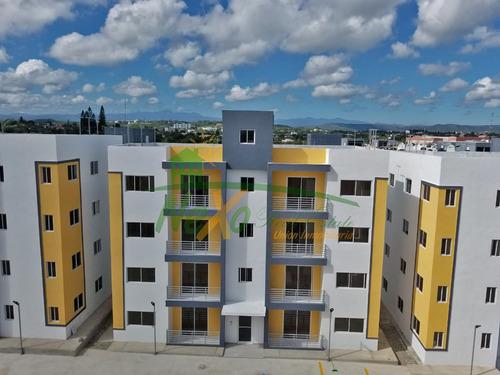 Imagen 1 de 13 de Apartamento Nuevo Económico Oportunidad Santiago (eaa-152 A)