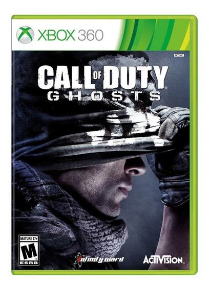 Call Of Duty Ghosts - Xbox 360 - Original - Física - Novo