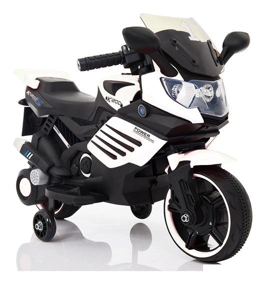 Moto A Bateria 2 Ruedas Niño 6v Luz Y Sonido Ride Fun K1200