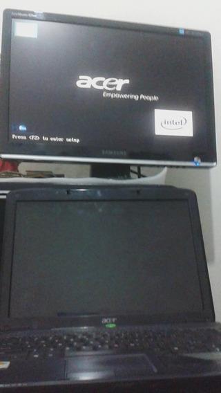 Notebook Acer Aspire 4330 Tela Com Defeito