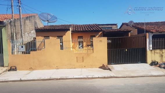 Casa Com 3 Dormitórios À Venda, 120 M² Por R$ 200.000,00 - Cpa Iv - Cuiabá/mt - Ca0952