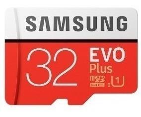 Cartão Micro Sd Sdhc Samsung Evo 32gb Classe 10 80mb/s Uhs-