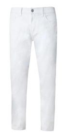 Calca Branca Masculina Skinny Original Com Garantia