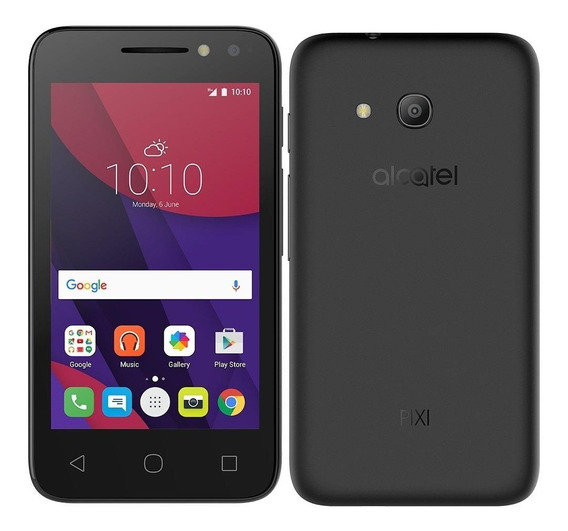 Smartphone Alcatel Pixi4 4 Dual Chip,preto,tela 4, 8mp, 8gb