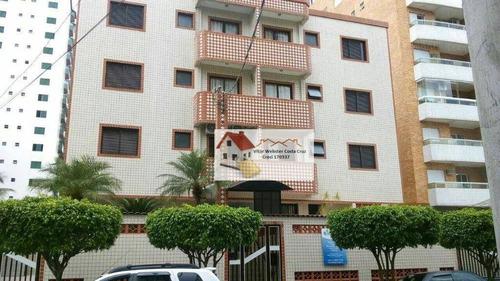 Apartamento Com 1 Dormitório À Venda, 70 M²- Canto Do Forte - Praia Grande/sp - Ap0337