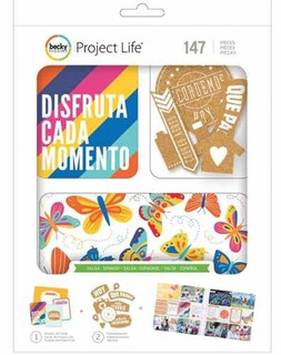Project Life Salsa Value Embellishment Kit - Spanish