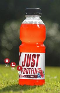 Unica Agua Con 15 Grs De Proteina.. Sabor Strawberry