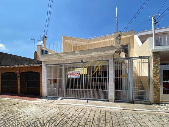 Casa Térrea Com 2 Dormitórios Para Alugar Por R$ 1.200/mês - Vila Augusta - Guarulhos/sp - Ca0055