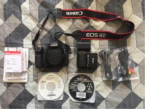 Canon 6d + Itens Na Descrição
