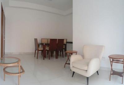 *apartamento Para Locação, Boqueirão, Santos. - Ap0409