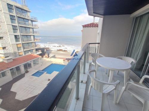 Hermosa Vista Al Mar * Apto 2 Dormitorios En Primera Línea- Ref: 5323