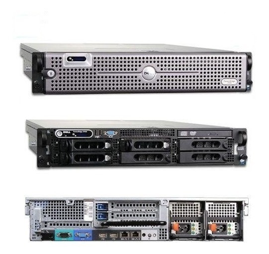 Dell Poweredge 2950 - Xeon Quad-core - Sas/sata