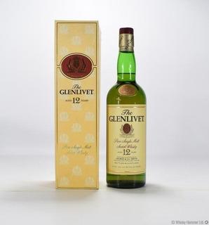Exclusivo Whisky The Glenlivet 12 Años 80