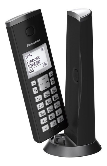 Teléfono Inalámbrico Panasonic Kx-tgk210 Blanco 40 Tonos Lcd