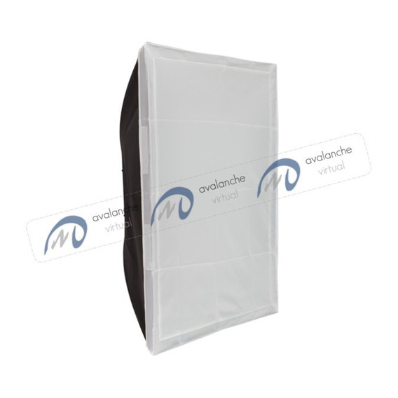 Softbox Flash De Estúdio 45 X 45cm Enc Universal Greika Hazy