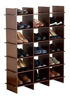 Mueble Para Zapatos Roketkomo Zapatera Color Nogal