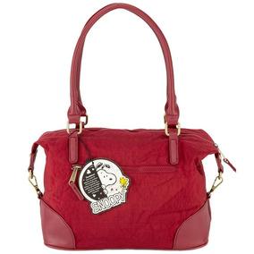 650aafe56 Bolsa Snoopy Da Semax - Calçados, Roupas e Bolsas Vermelho no ...