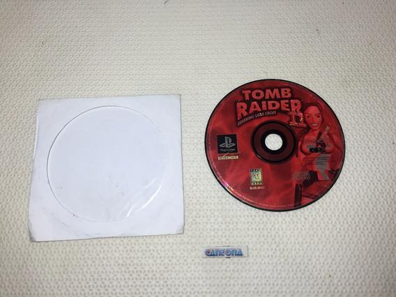 Somente Disco Tomb Raider 2 Original Ps1 Mídia Arranhada