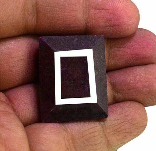 Rubi Gigante Corte Esmeralda 106 Ct Suerte Talisman Amuleto