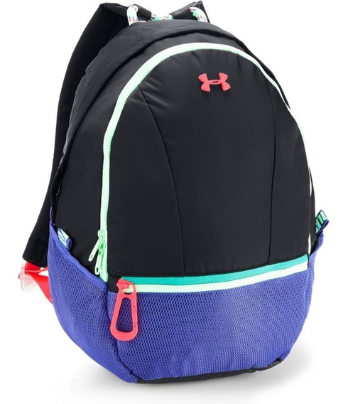 Undearmour Mochila Downtown Backpack Negra Para Niña -- 2019