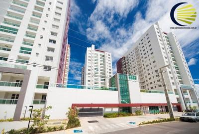 Excelente Apartamento 3/4 Com 3 Suítes, Lavabo, 2 Garagens E Varandão! - 121118aju - 33303681