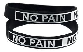 1(uma) Pulseira Silicone No Pain No Gain