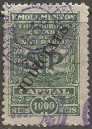 Judiciaes - Emolumentos - Capital - 1.000 Reis - 10020