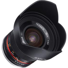 Lente Rokinon 12mm F/2.0 Ncs Cs Lens For Canon Ef-m Mount