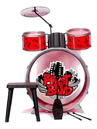 Imagen 1 de 5 de Bateria Musical Para Niños First Band - Art. Fd2541 E.full