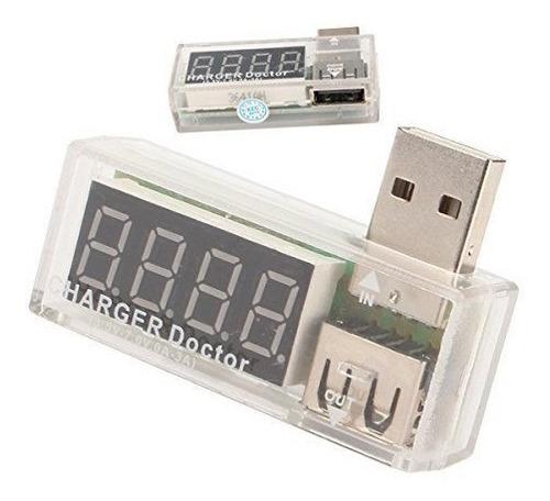 Usb Doctor Tester Analizador Carga Voltimetro Amperimetro
