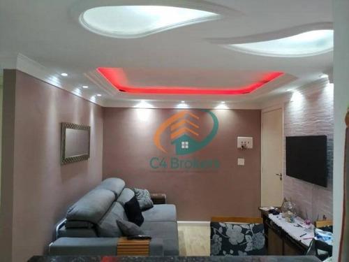 Imagem 1 de 22 de Apartamento Com 2 Dormitórios À Venda, 41 M² Por R$ 250.000,00 - Água Chata - Guarulhos/sp - Ap2056