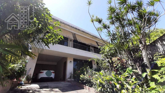 Casa Com 4 Dormitórios À Venda, 240 M² Por R$ 1.600.000,00 - Charitas - Niterói/rj - Ca1302