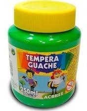 Tinta Guache Acrilex 250ml Kit C/ 5 Cores A Sua Escolha