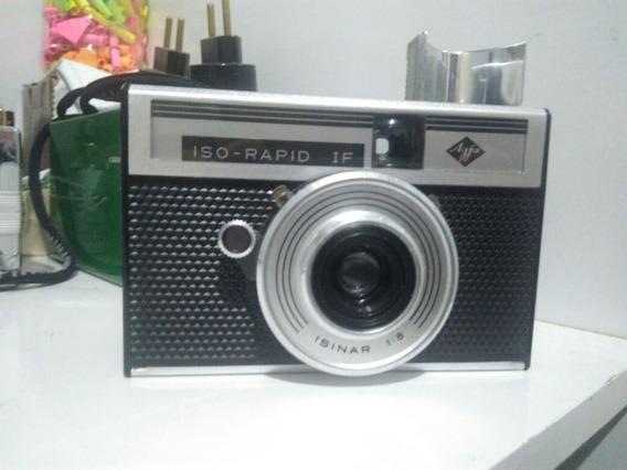 Câmera Analógica Agfa Iso-rapid If Filme 35mm